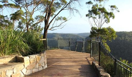 Barnetts lookout. Photo: John Yurasek