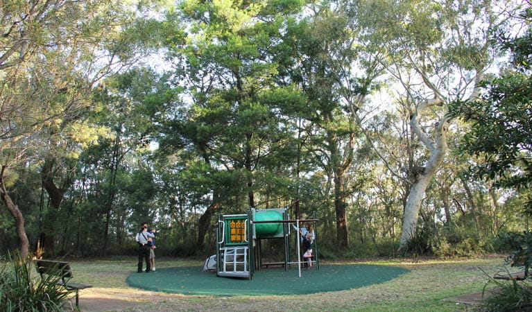 Playground in Berowra Valley National Park. Photo: John Yurasek