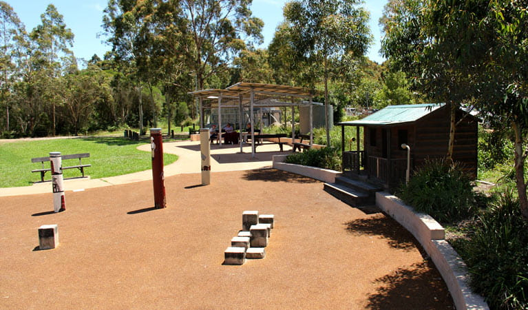 Adventure playground, Blue Gum Hills Regional Park. Photo: John Yurasek