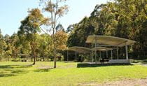 Village green picnic area, Blue Gum Hills Regional Park. Photo: John Yurasek