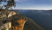 View of Burramoko Ridge (Hanging Rock), Blue Mountains National Park. Photo: David Finnegan/OEH