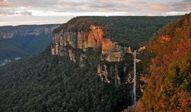 Govetts Leap (Bridal Veil Falls), Blue Mountains National Park. Photo: Steve Alton