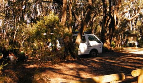 Perrys Lookdown campground, Blue Mountains National Park. Photo: Craig Marshall
