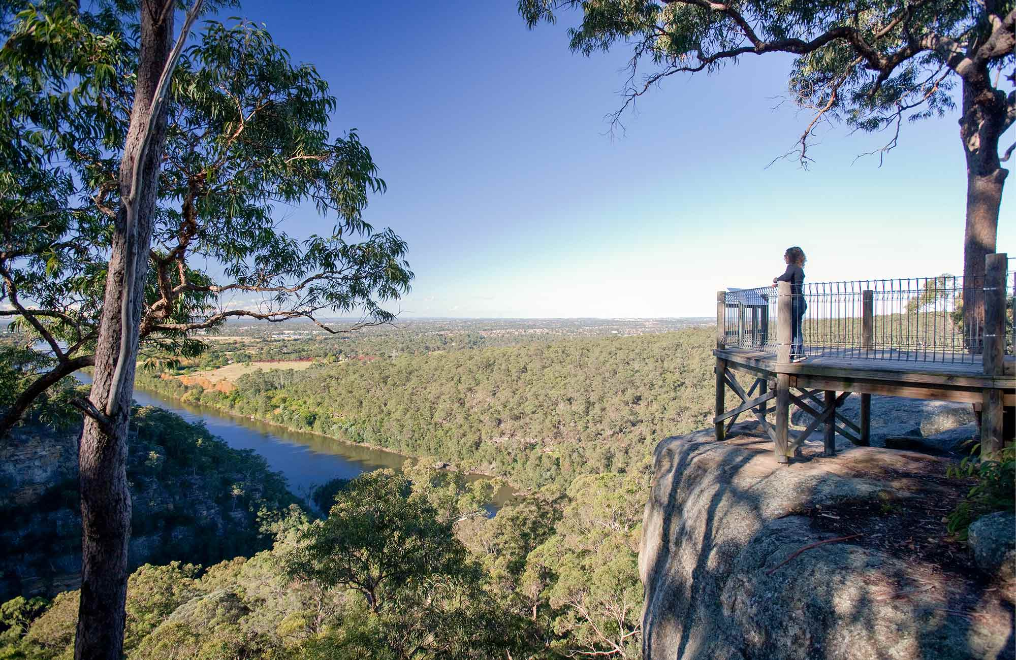Mount Portal lookout, Blue Mountains National Park. Photo: Nick Cubbin