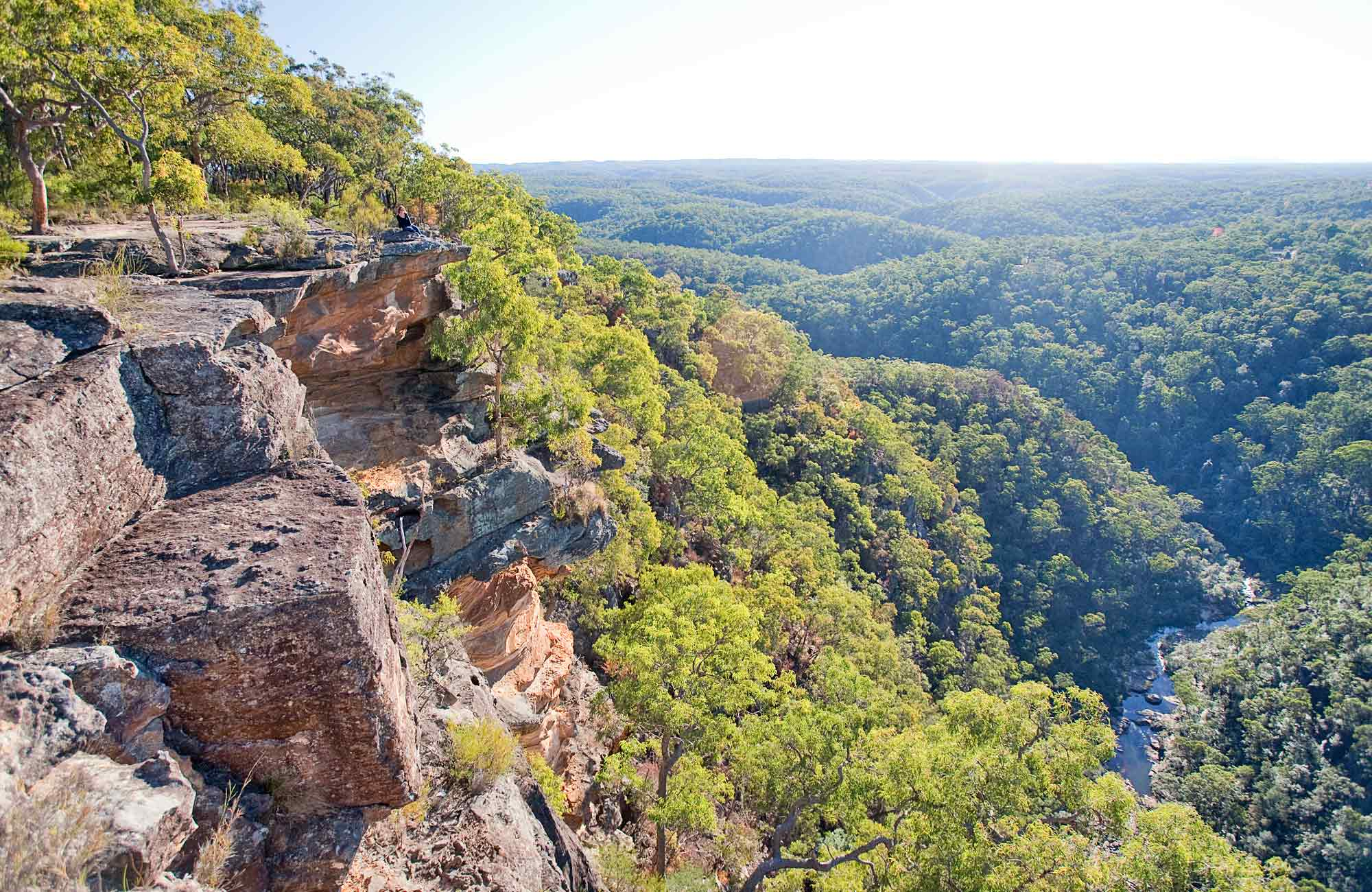 Tunnel View lookout, Blue Mountains National Park. Photo: Nick Cubbin