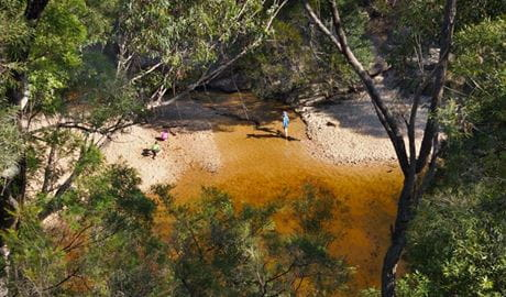 Jellybean Pool, Blue Mountains National Park. Photo: Steve Alton/NSW Government