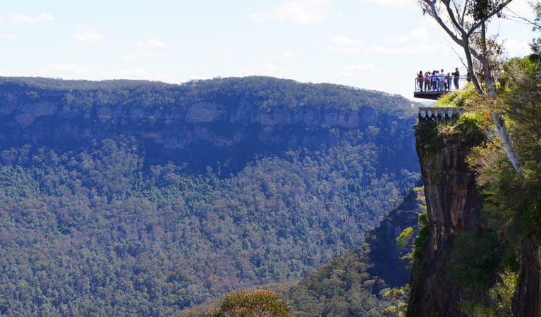 Echo Point Lookout (Three Sisters), Blue Mountains National Park. Photo: Steve Alton