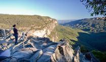Princes Rock walking track, Blue Mountains National Park. Photo: Nick Cubbin