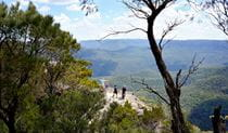 Sublime Point Lookout, Blue Mountains National Park. Photo: Steve Alton/NSW Government