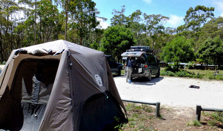 Mount Werong campground, Blue Moutnains National Park. Photo: J Bros