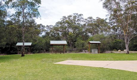 Bombaderry Creek picnic shelters, Bombaderry Creek Regional Park