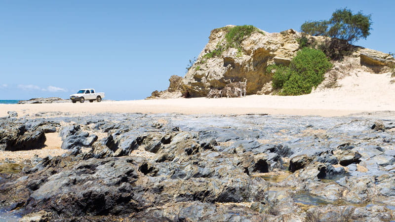 Tuckers Rocks, Bongil Bongil National Park. Photo: Michael van Ewijk