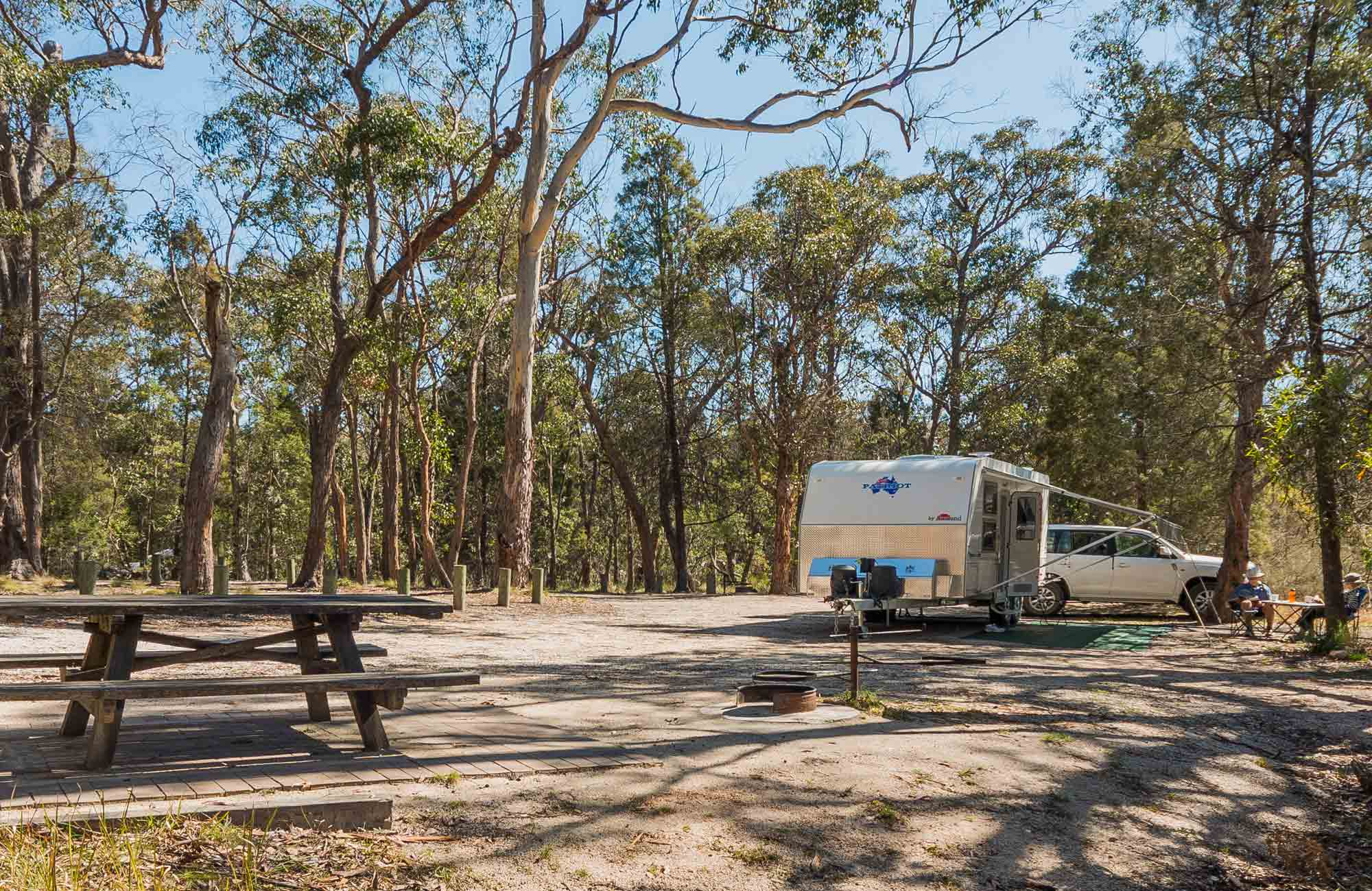 Cypress Pine campground, Boonoo Boonoo National Park. Photo: David Young