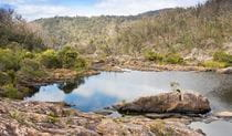 Rockpools at Boonoo Boonoo National Park. Photo: Leah Pippos © DPIE