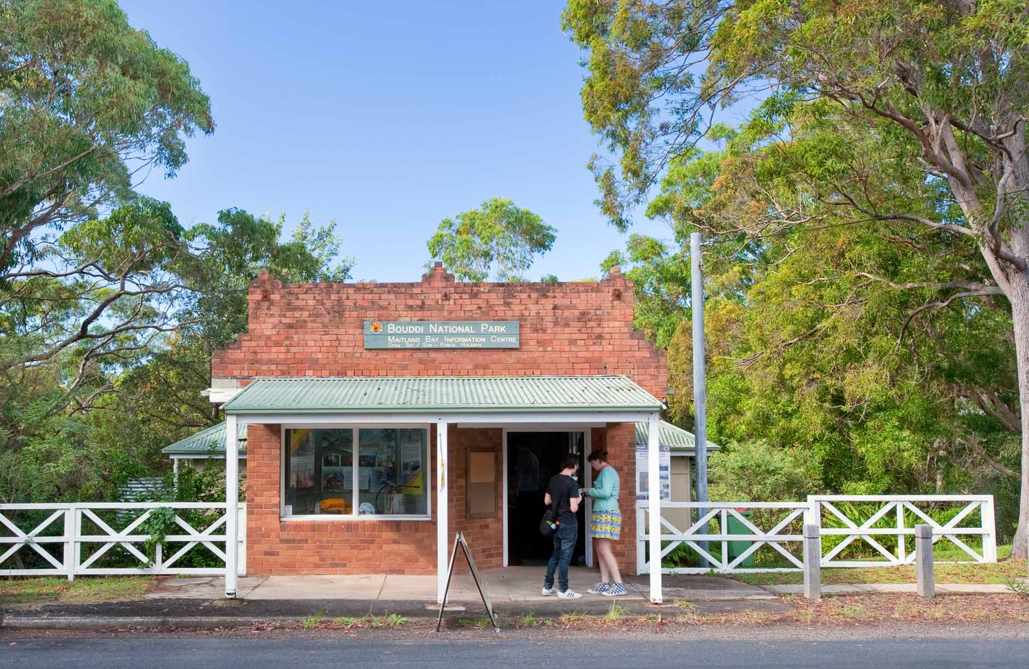 Maitland Bay Information Centre, Bouddi National Park. Photo: Nick Cubbin