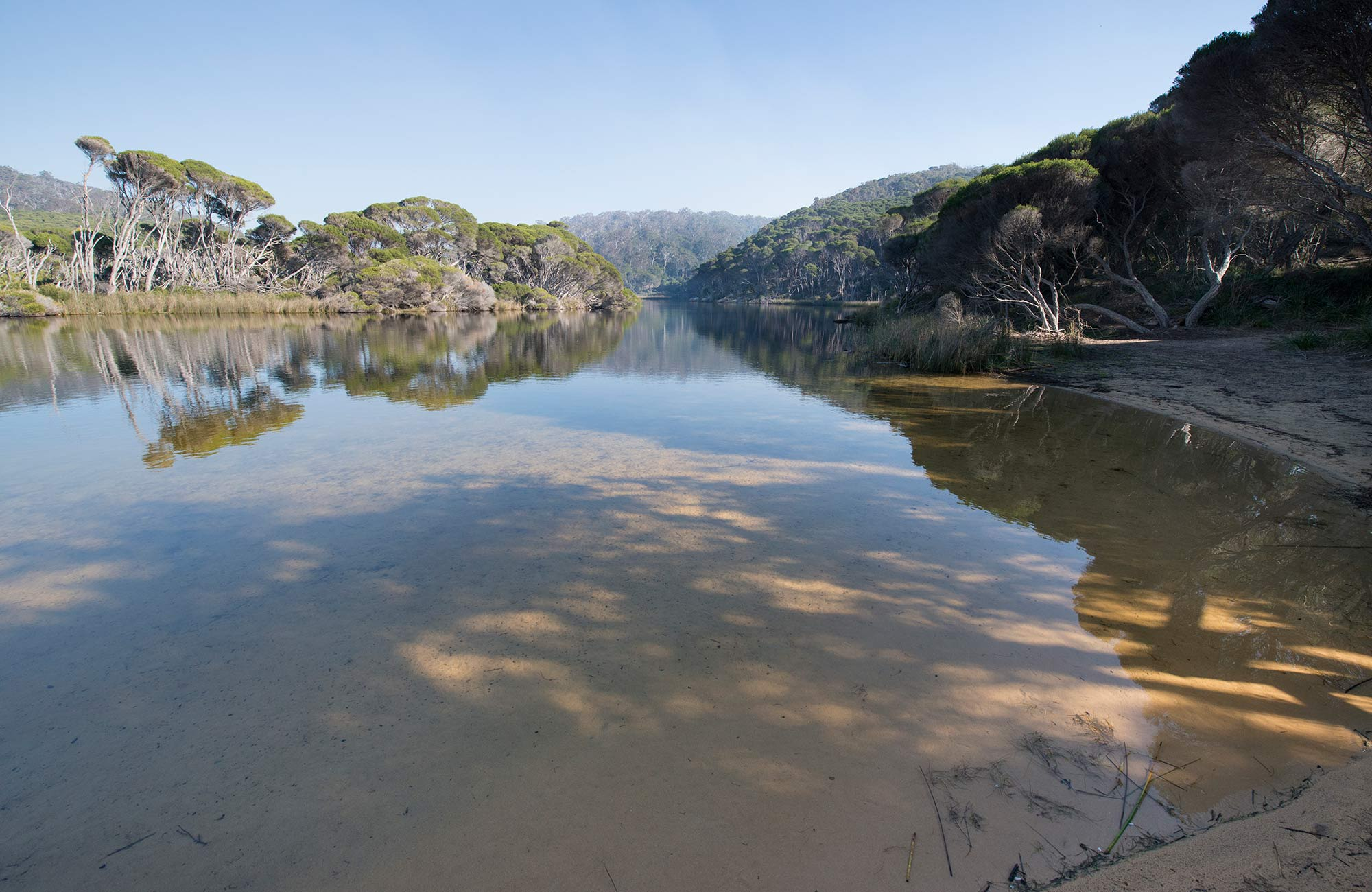Bournda Lagoon, Bournda National Park. Photo: John Spencer