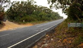 Warrah Trig cycling route, Brisbane Water National Park. Photo: John Yurasek