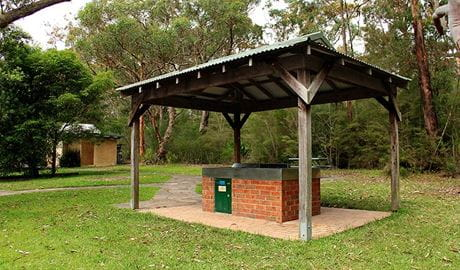 Somersby Falls picnic area, Brisbane Water National Park. Photo: John Yurasek © DPIE