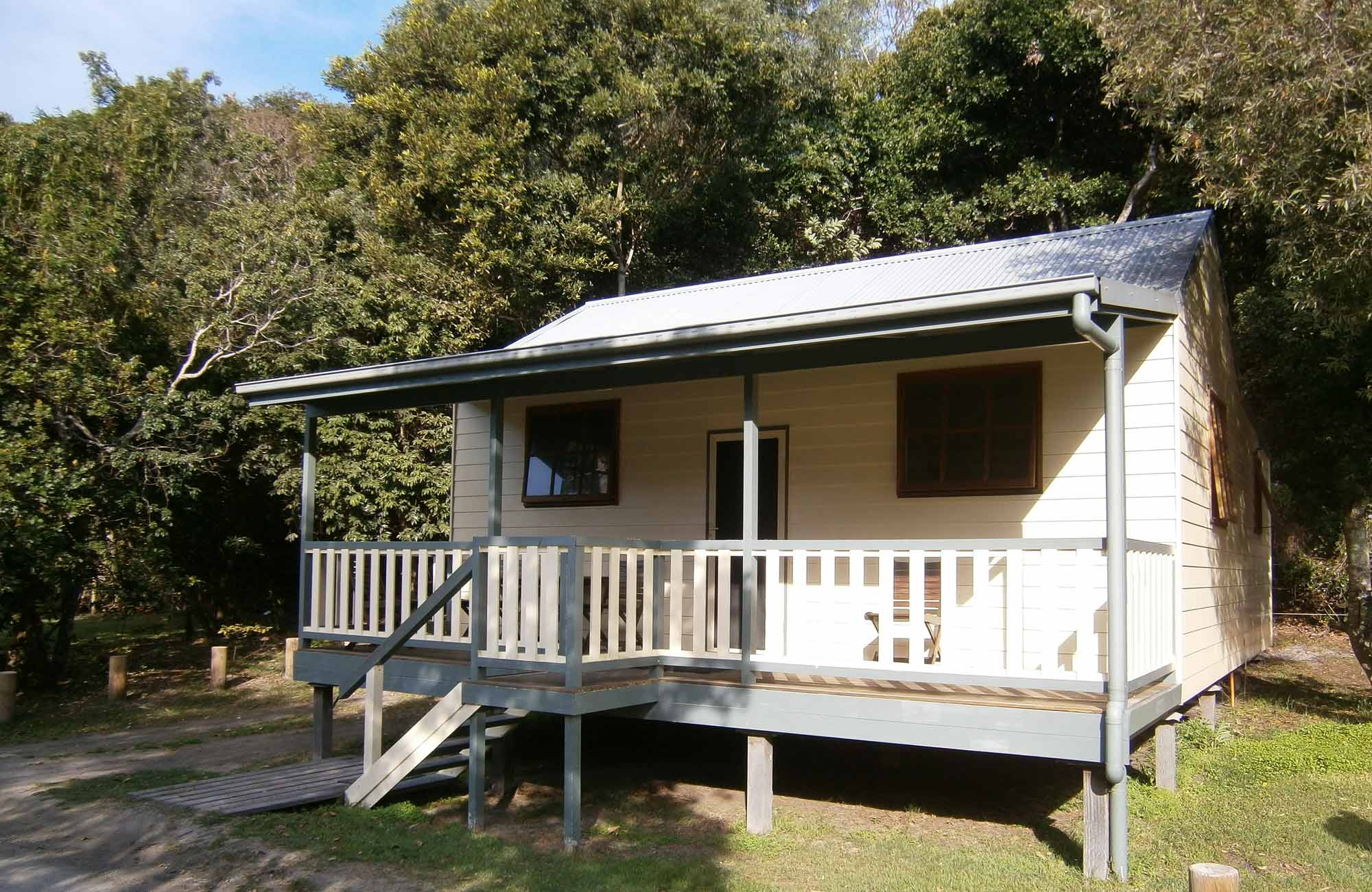 Cabin 4, Woody Head Cottages and Cabins, Bundjalung National Park. Photo: M Fletcher