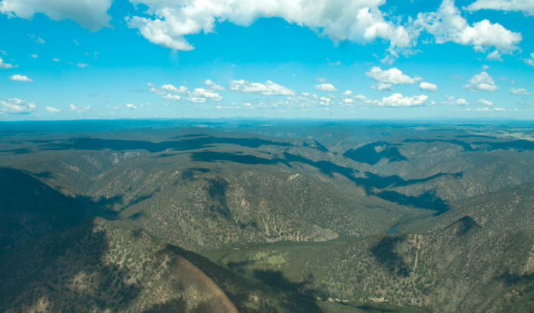 Bungonia Gorge, Bungonia National Park. Photo: Sara Fife/Capital Country Tourism