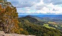 View from Red Rocks trig walking track, Cambewarra Range Nature Reserve. Photo: J Devereaux/OEH