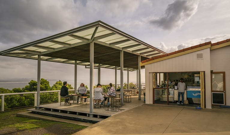 Cape Byron Lighthouse Cafe. Photo: John Spencer/OEH