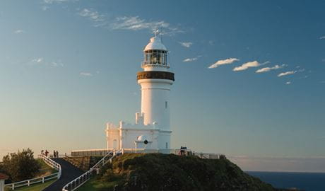 Cape Byron Lighthouse, Cape Byron State Conservation Area. Photo: John Spencer/OEH