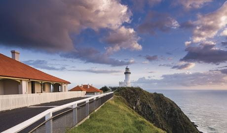 Cape Byron Lighthouse, Cape Byron State Conservation Area. Photo: David Young/OEH.