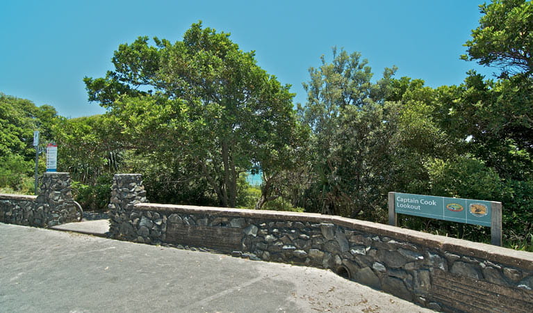 Captain Cook lookout and picnic area, Cape Byron State Conservation Area. Photo: John Spencer