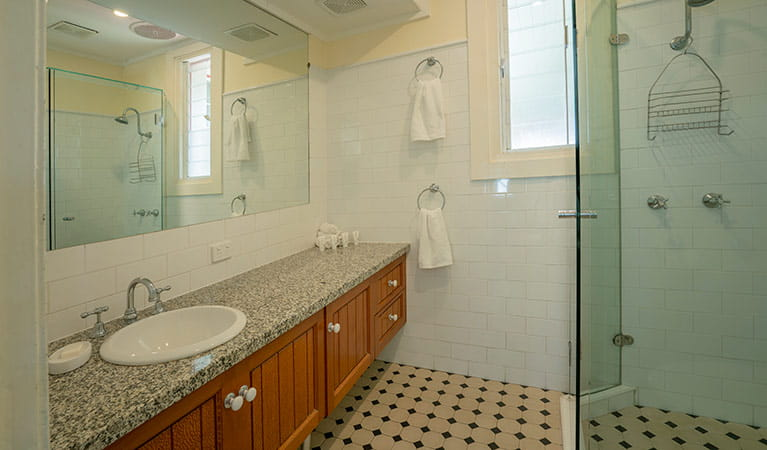 Bathroom inside the Assistant Lighthouse Keepers Cottage. John Spencer/DPIE