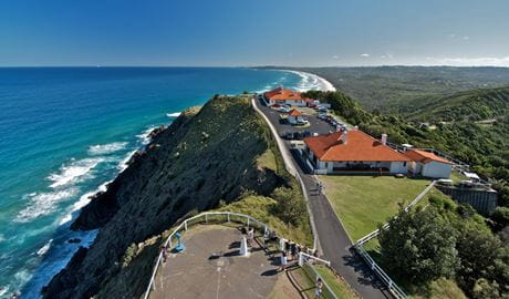 Lighthouse view, Cape Byron State Conservation Area. Photo: John Spencer