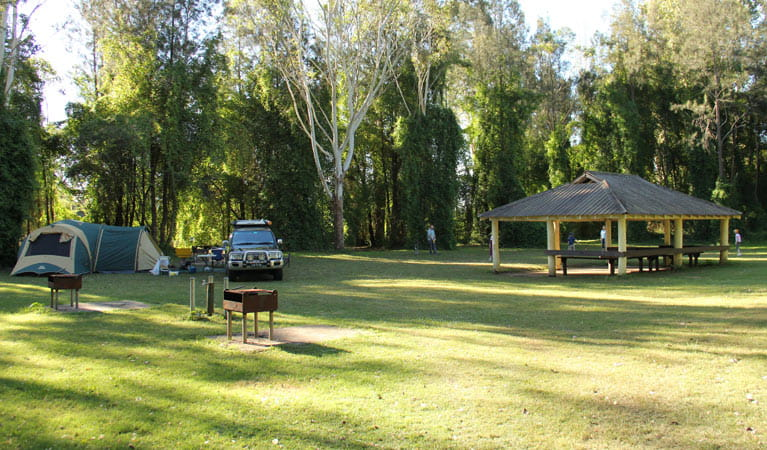 Cattai campground, Cattai National Park. Photo: John Yurasek