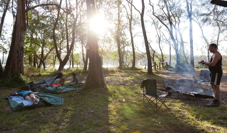 Beach Campground Nsw National Parks