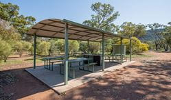 Woolshed Flat campground. Cocoparra National Park. Photo: John Spencer