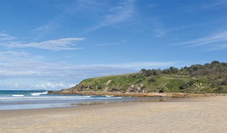 Emerald Beach, Coffs Coast Regional Park. Photo: Rob Cleary