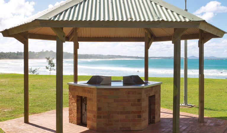 Woolgoola Beach Picnic Area Barbecue. Photo: Rob Cleary