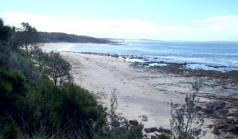 Monument beach, Conjola National Park. Photo: Libby Shields
