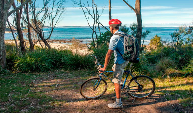 Monument Beach Ride from Bendalong, Conjola National Park. Photo: Michael van Ewijk.