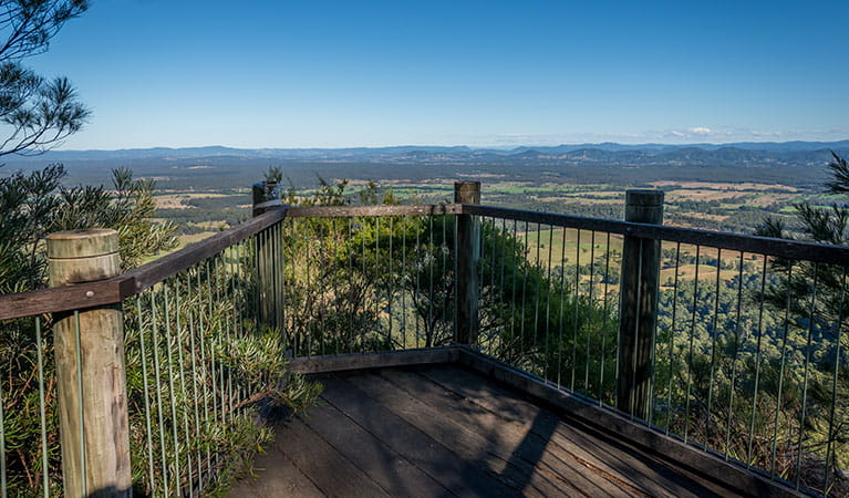 Newbys lookout, Coorabakh National Park. Photo: John Spencer