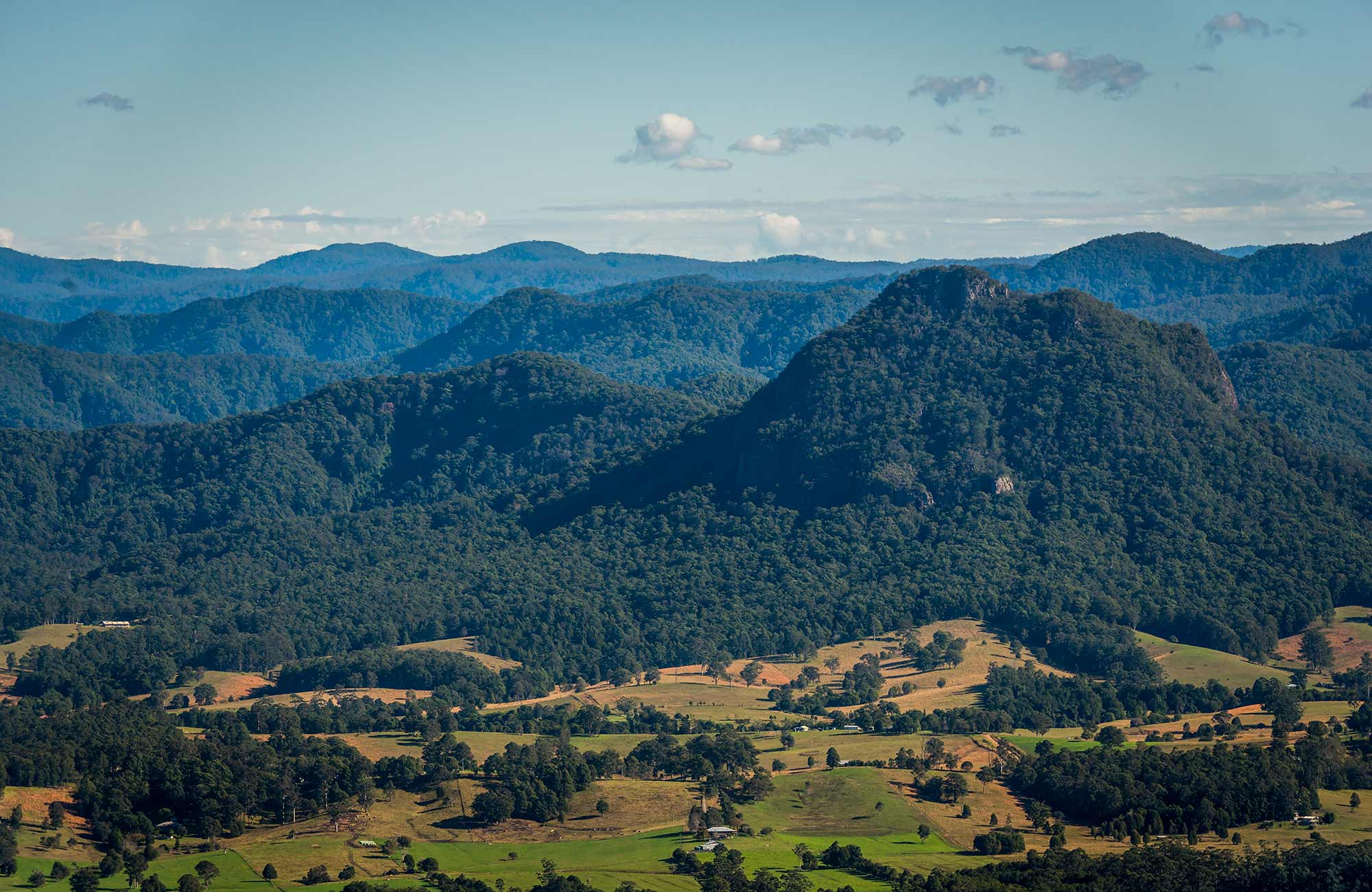 Newbys Creek lookout, Coorabakh National Park. Photo: John Spencer