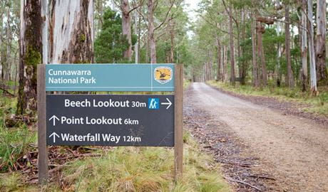 Beech Lookout, Cunnawarra National Park. Photo: Rob Cleary