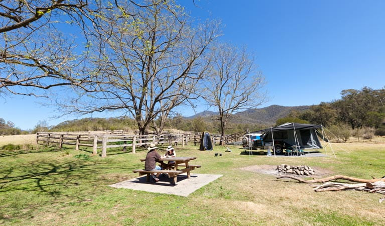 Horse campground, Deua National Park. Photo: Lucas Boyd