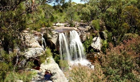 Maddens Falls lookout, Dharawal National Park. Photo: John Yurasek