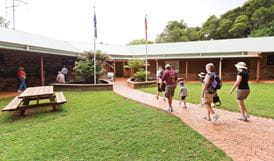People visiting the Dorrigo Rainforest Centre. Photo: Rob Cleary