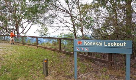 Kosekai lookout, Dunggir National Park. Photo: Rob Cleary
