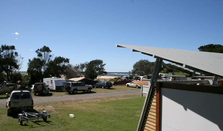 Congo campground facilities, Eurobodalla National Park. Photo: Dina Bullivant