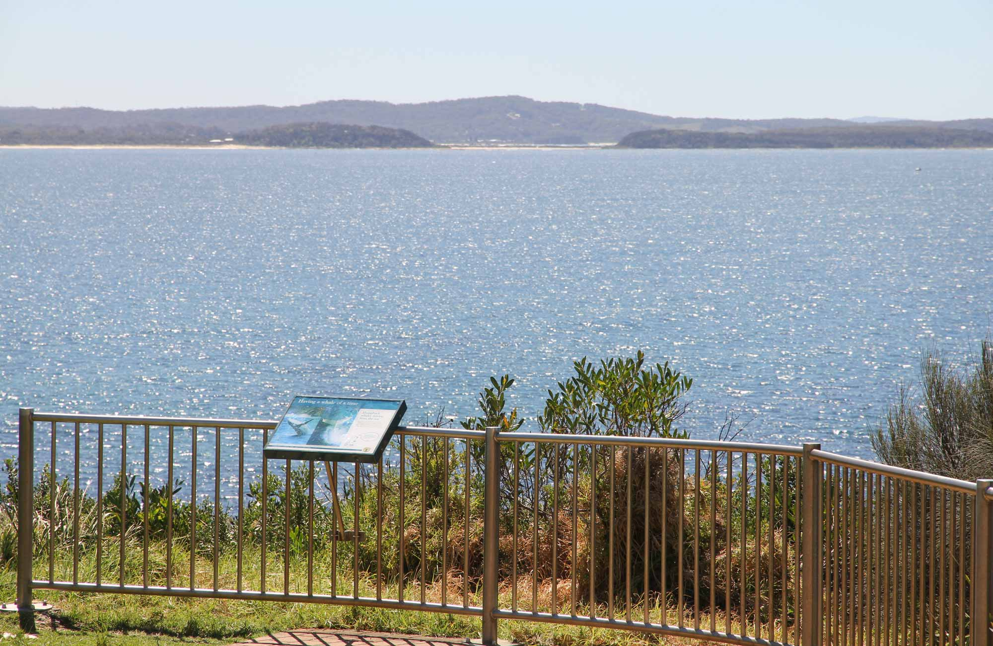 Moruya Heads lookout, Eurobodalla National Park. Photo: Tristan Ricketson