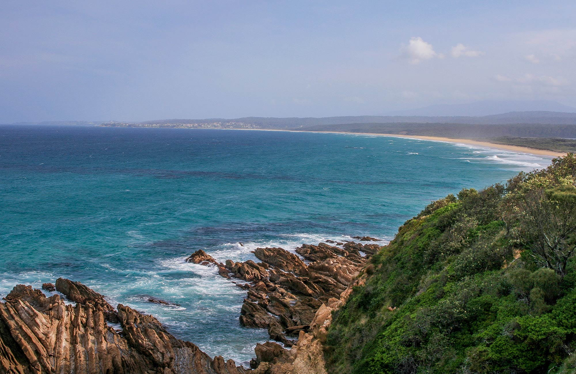 Coastline, Eurobodalla National Park. Photo: Christina Bullivant