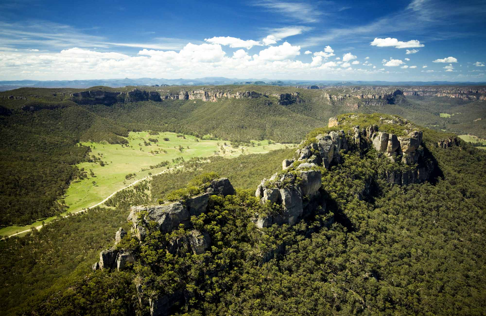 Wolgan Valley, Gardens of Stone National Park. Photo: Hamilton Lund