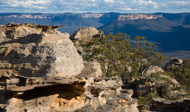Pantoneys Crown, Gardens of Stone National Park. Photo: Ian Brown